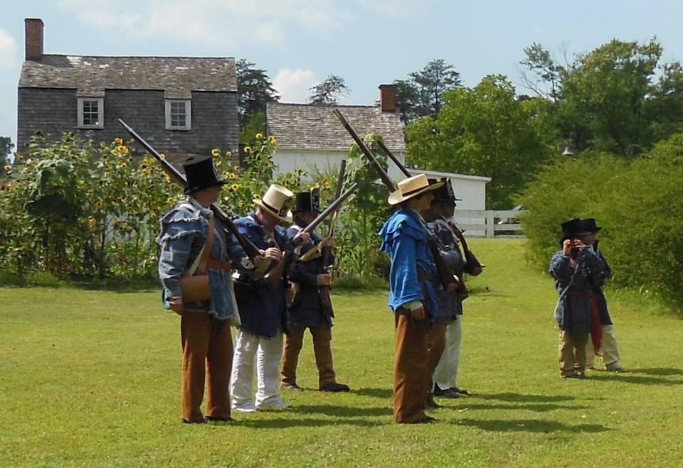 War of 1812 Remembrance @ Historic Hancock's Resolution   Pasadena   Maryland   United States